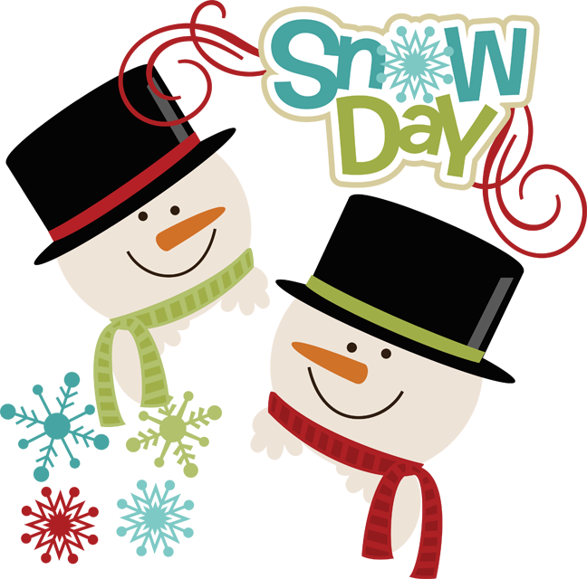 648x640 Snow Day Clip Art