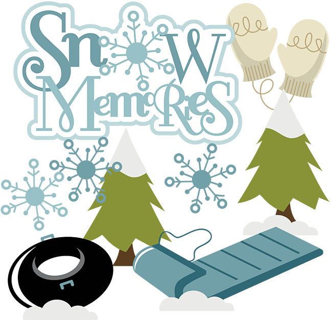 648x626 Snow Memories Svg Snow Memories Scrapbook Svg Snow Clipart Cute
