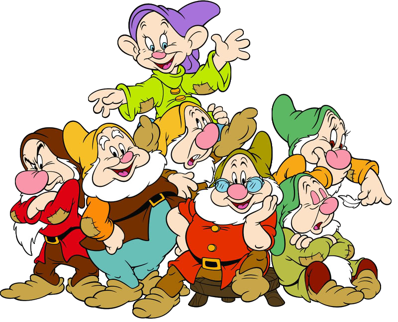 800x648 Snow White And The Seven Dwarfs Clip Art