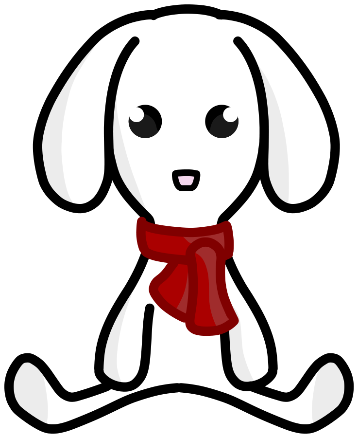 737x900 Snow Clipart Rabbit