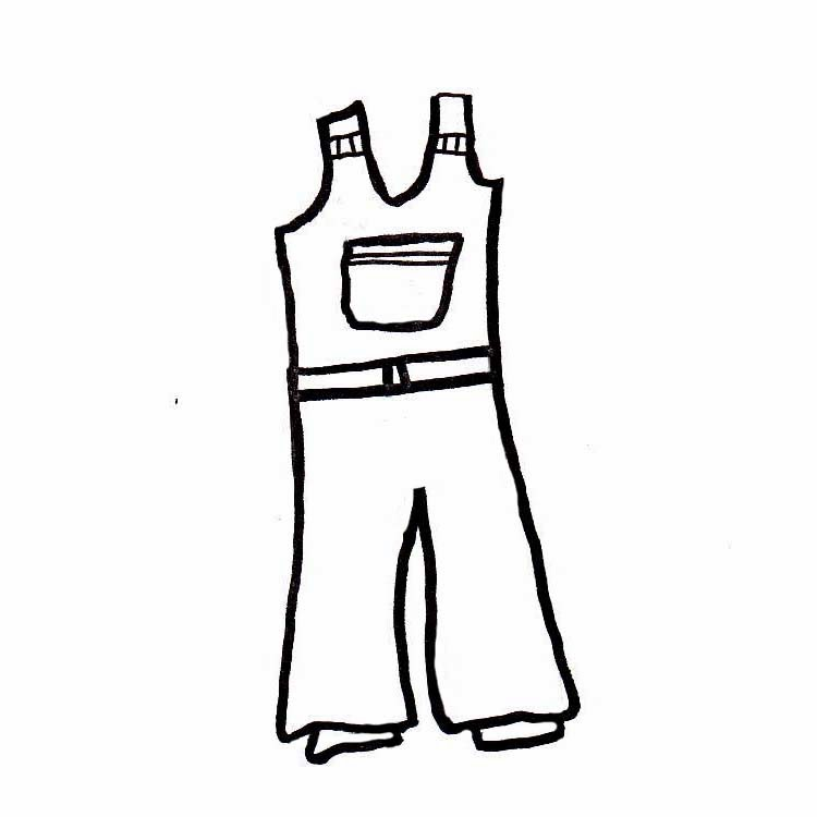 750x750 Uniform Pants Cliparts 270541