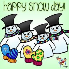 236x236 Snow Day Clipart