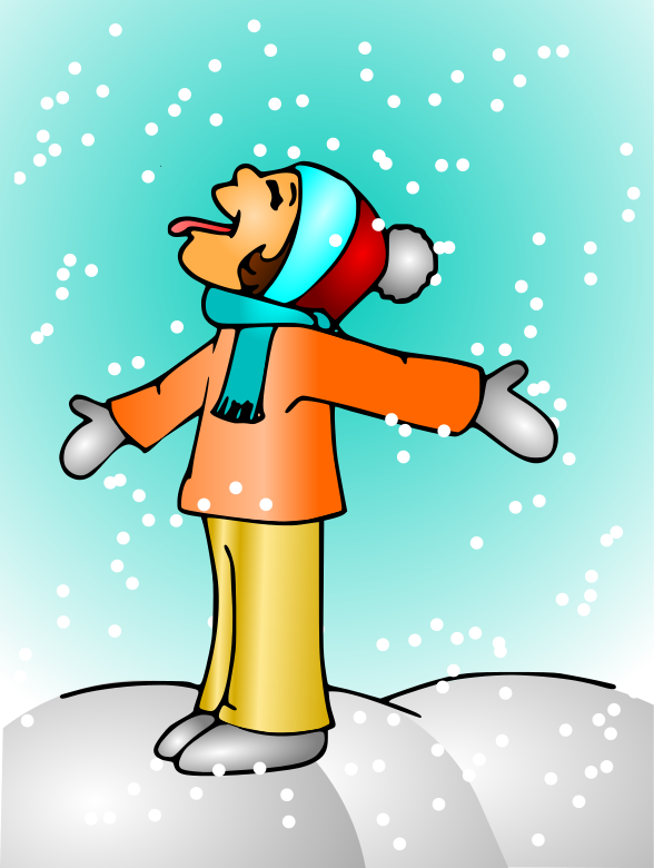 588x780 Snowfall Clipart Inclement Weather