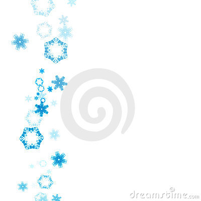 400x400 Falling Snowflakes Clipart