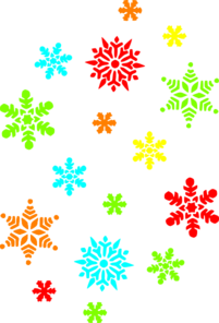 201x296 21 Beautifully Free Snowflake Clip Art Images