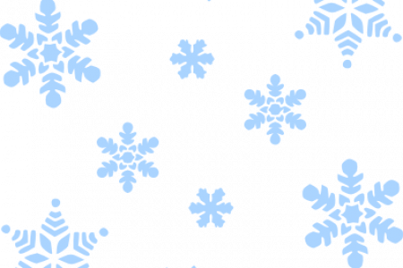 450x300 Snow Falling Clip Art Outline