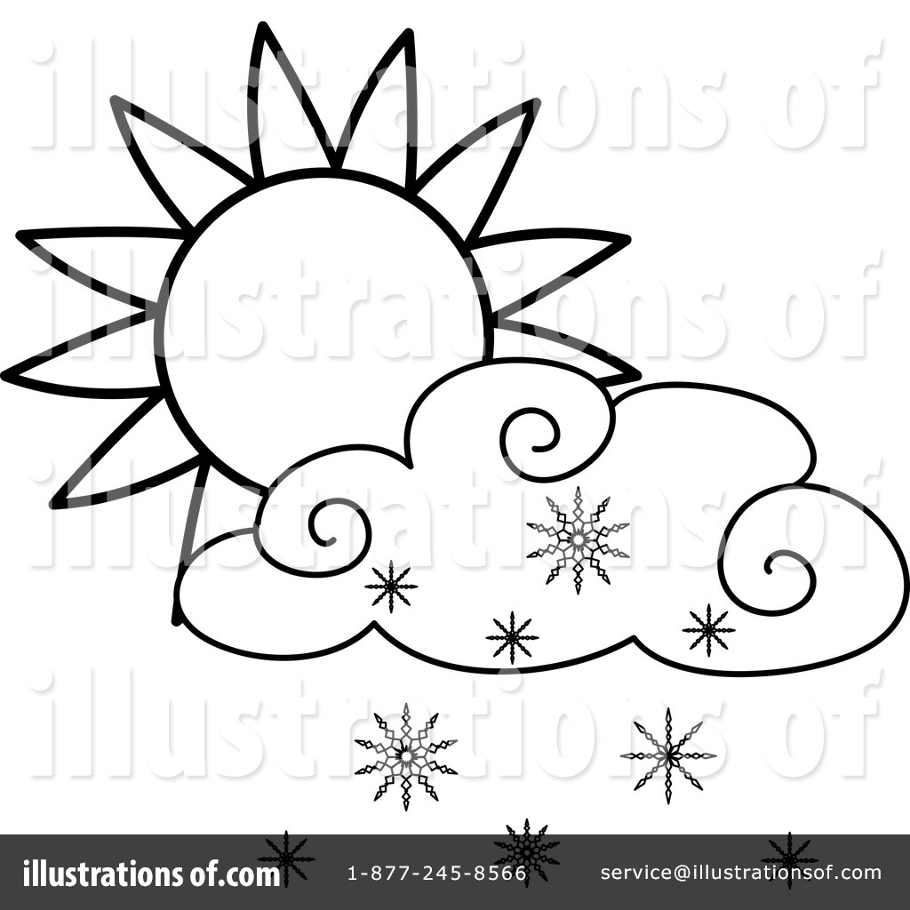 1024x1024 Snowing Clipart