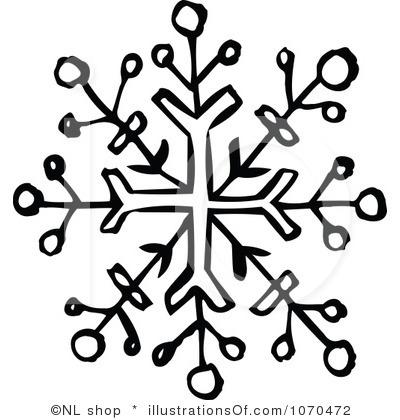400x420 Free Snowflake Clip Art Line Cliparts