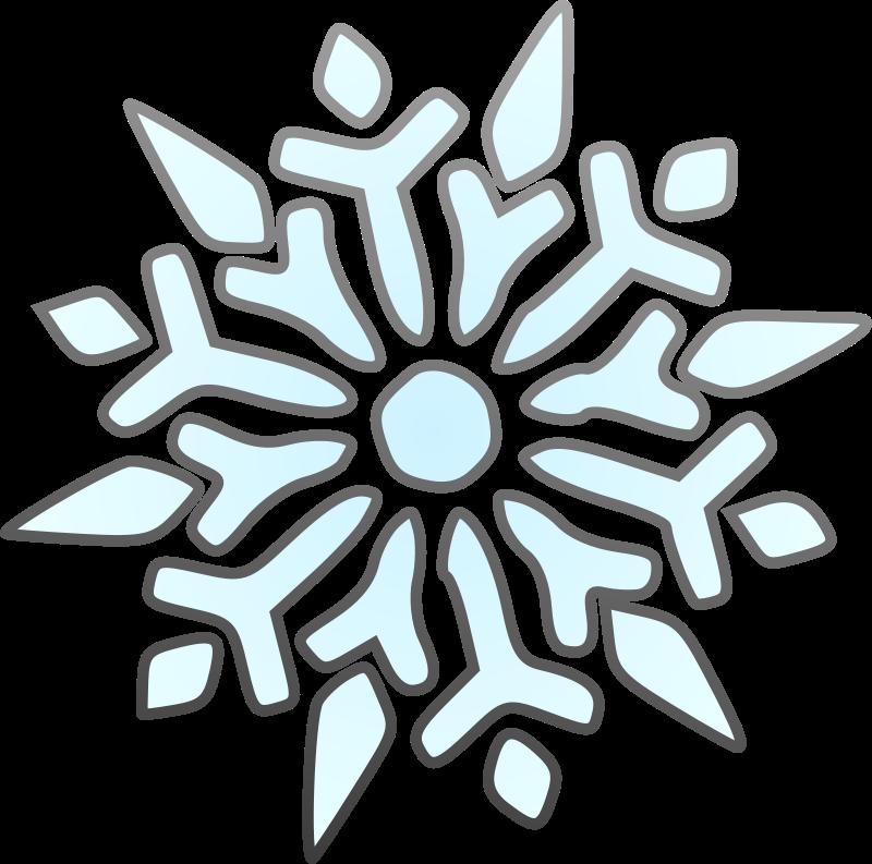 800x793 Free To Use Amp Public Domain Snowflakes Clip Art