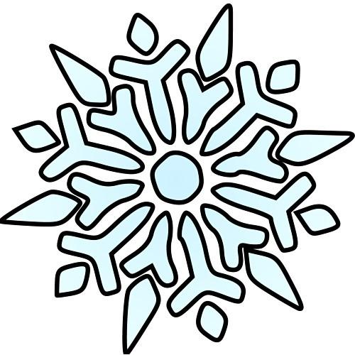 500x500 Snowflakes Snowflake Clip Art Microsoft Free Clipart Images 2