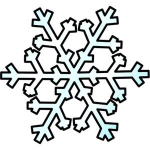 300x300 Free Snowflake Clipart
