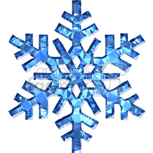 300x300 Royalty Free Snowflake Geometry Geometric Polygon Vector Graphics