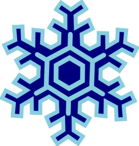 285x299 Snowflake Clip Art