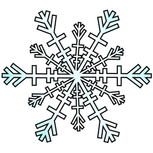 300x300 477 Winter Clipart Snowflake Public Domain Vectors