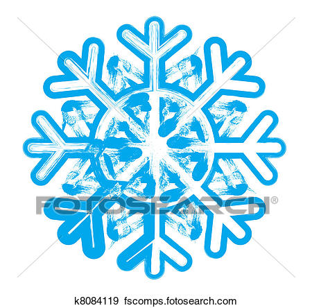 450x444 Stock Illustration Of Snowflake. Element For Design. Vector