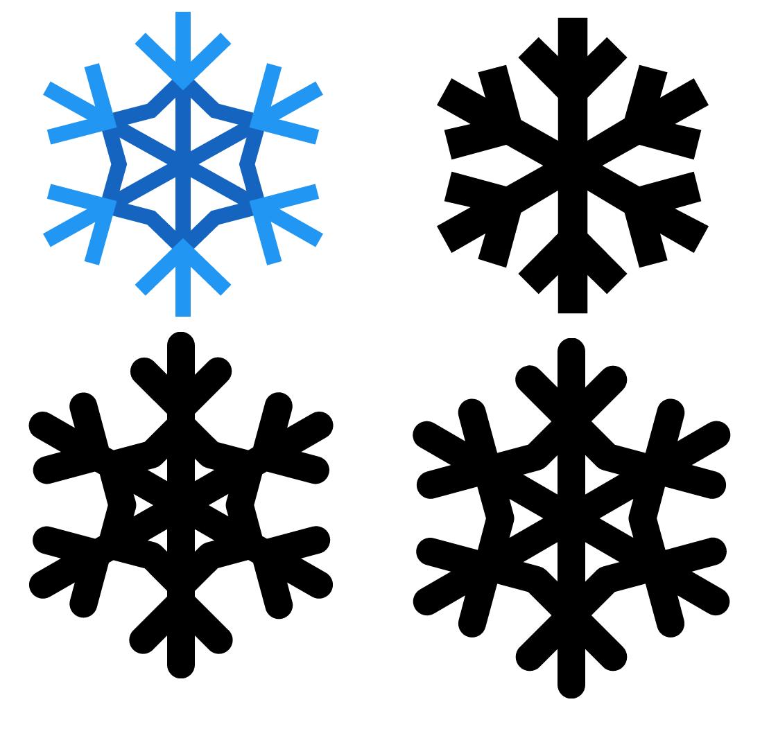 1109x1065 Snowflake Icon