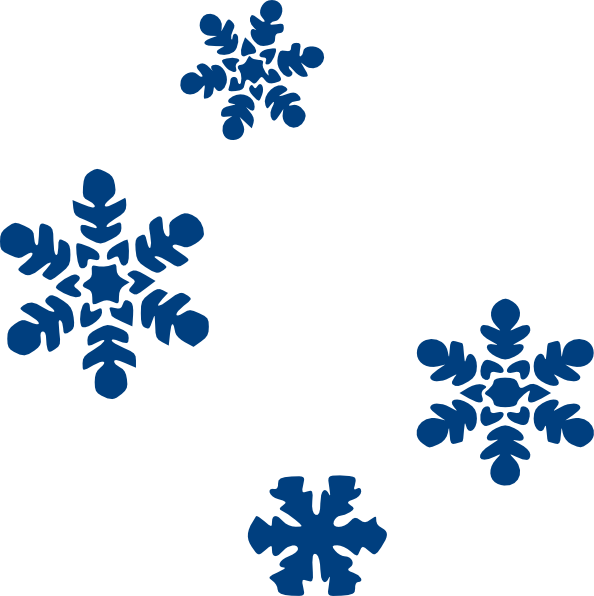 594x596 Blue Snow Flakes Png, Svg Clip Art For Web