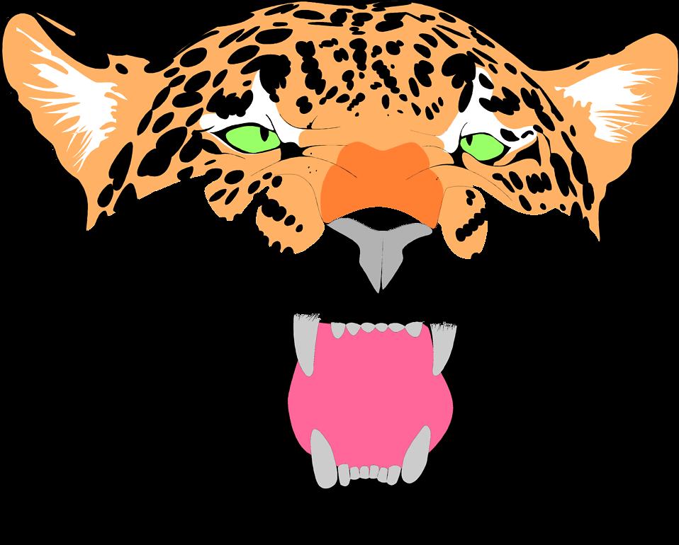 958x770 Jaguar Clipart Face