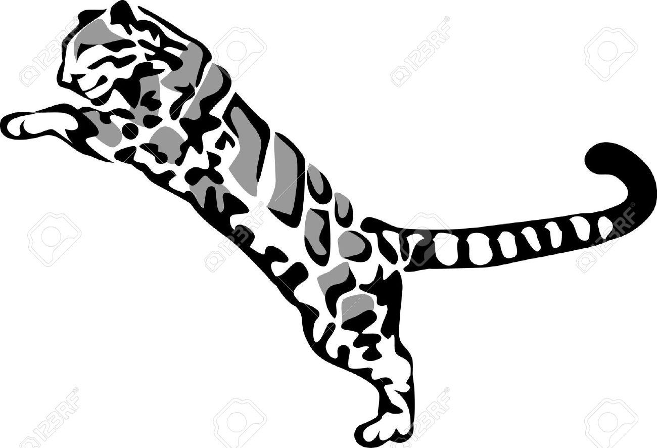 1300x886 Snow Leopard Clipart Clouded Leopard