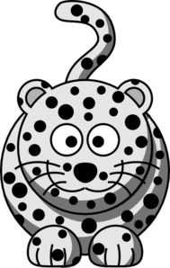 189x298 Cartoon Snow Leopard Clip Art