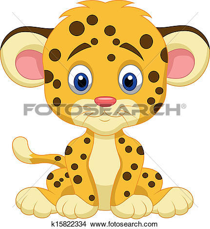 431x470 Baby Clipart Snow Leopard