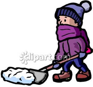 300x281 Snow Shovel Clip Art Cliparts