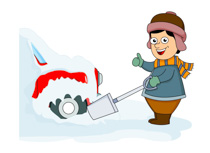 210x153 Snowfall Clipart Snow Removal