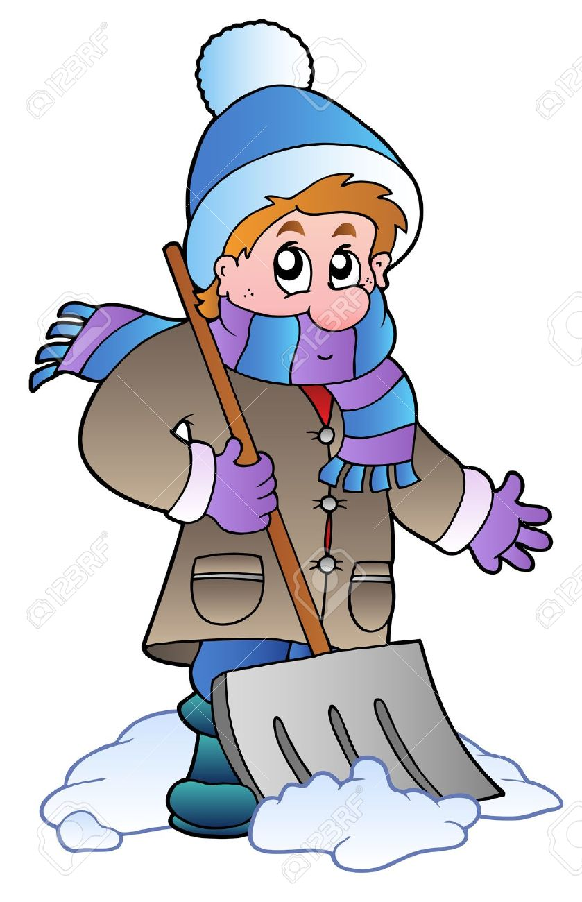 839x1300 Clipart Man In Winter Snow Collection