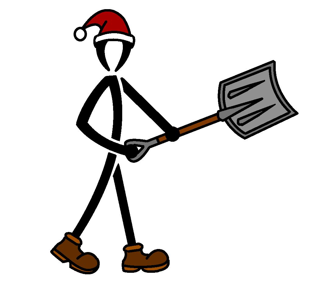 1023x922 Snow Removal Logo (Stick Men) By Nemmers Art