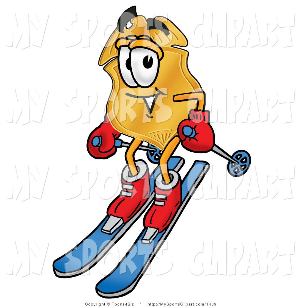 1024x1044 Ski Clip Art