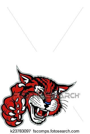 316x470 Bobcat Clip Art Royalty Free. 564 Bobcat Clipart Vector Eps