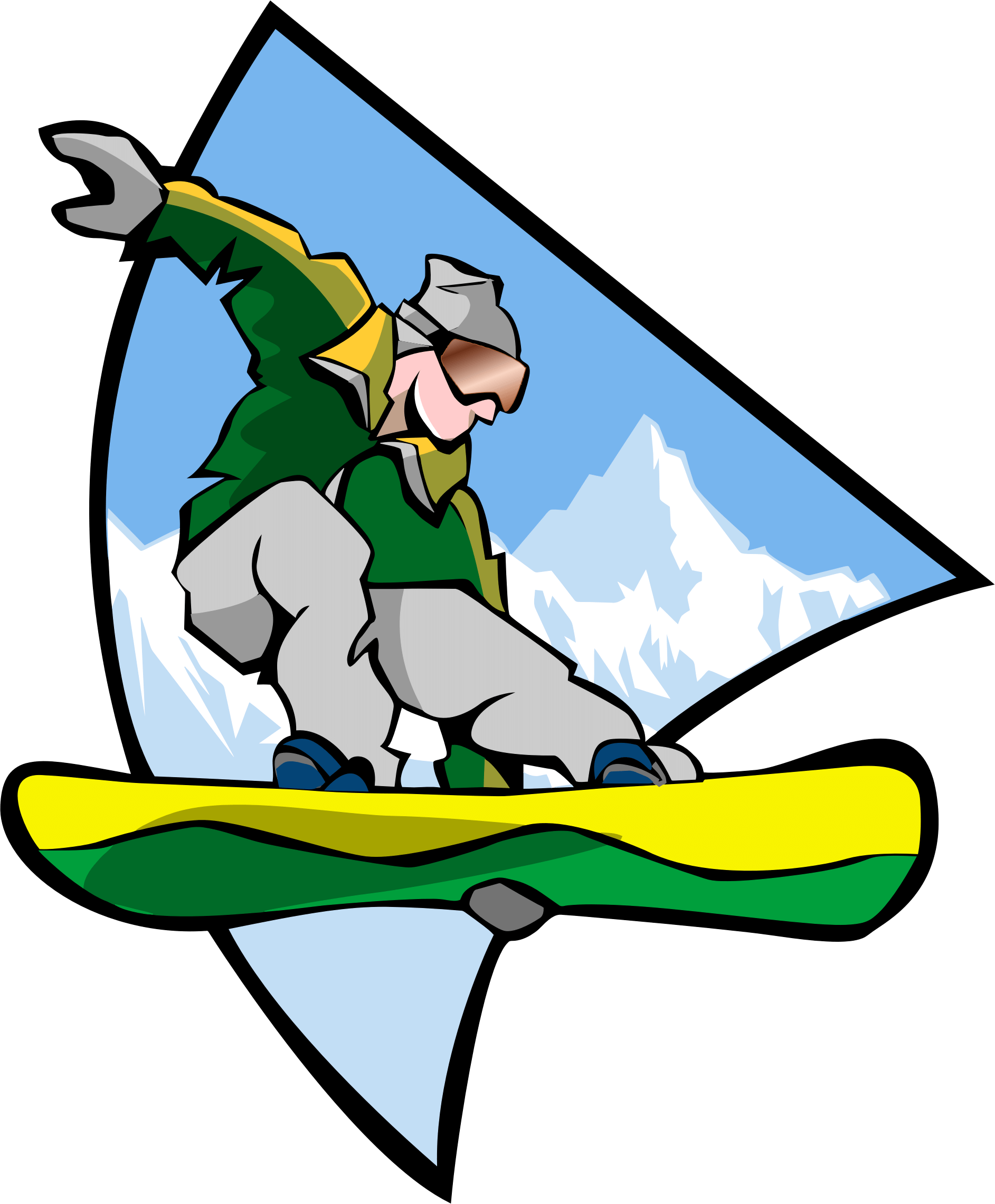 Collection of Snowboarding clipart | Free download best