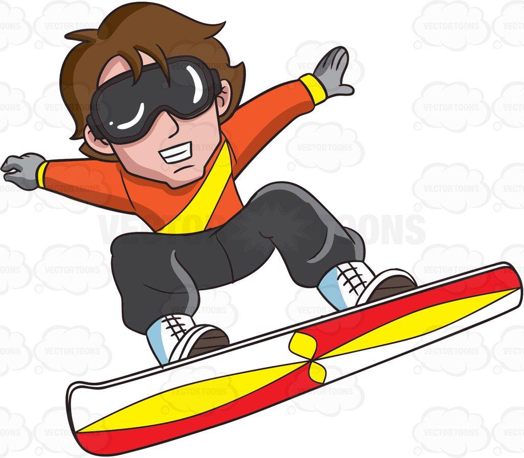 Snowboarder Cliparts