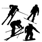 170x170 Skiing And Snowboarding Clipart