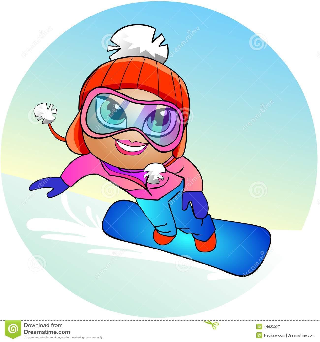 1300x1390 Snowboard Clipart