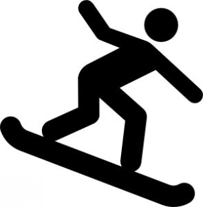 295x300 Snowboard Symbol Clip Art Download