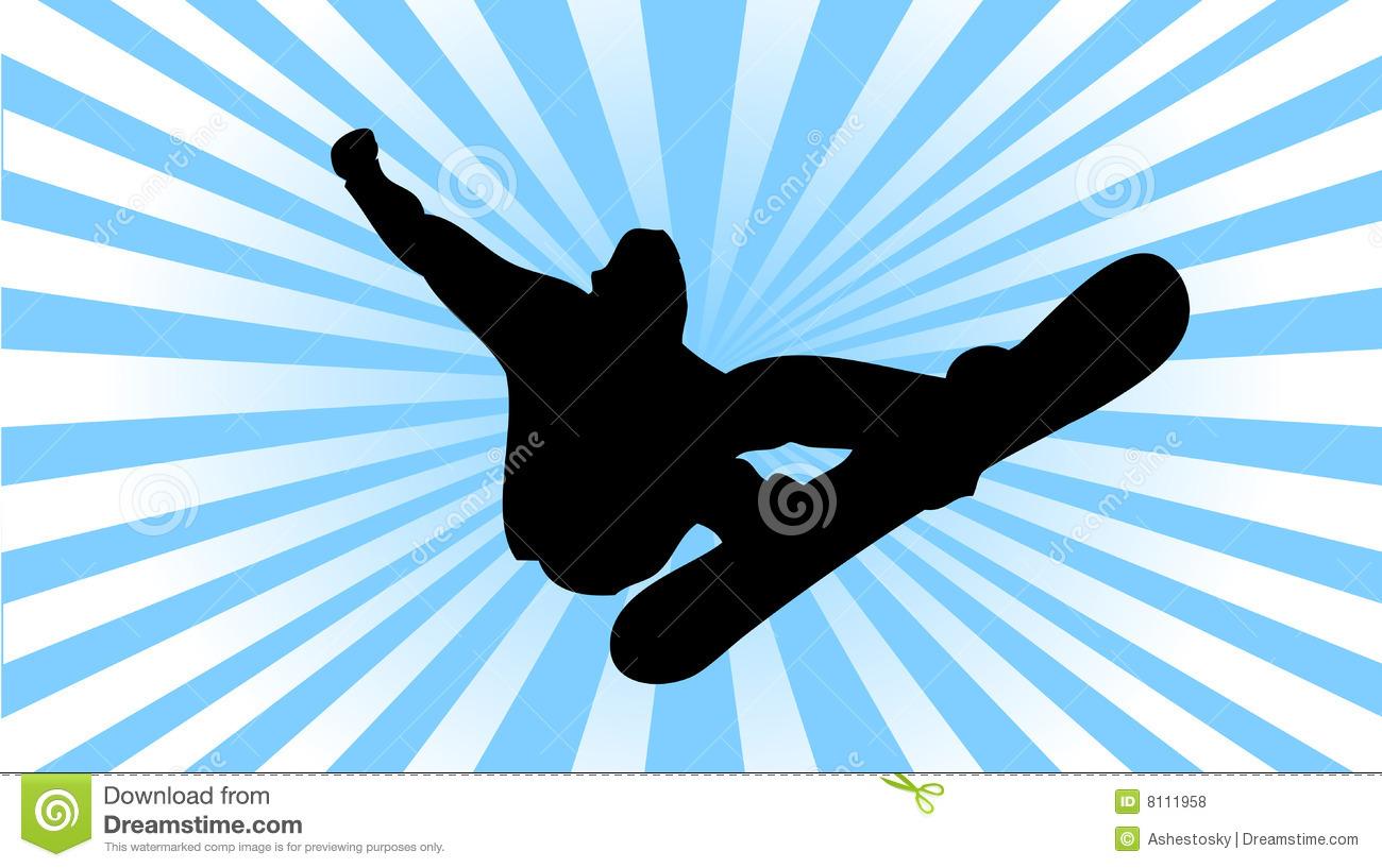 1300x817 Snowboard Clipart 1048300 Royalty Free Rf Clip Art Illustration