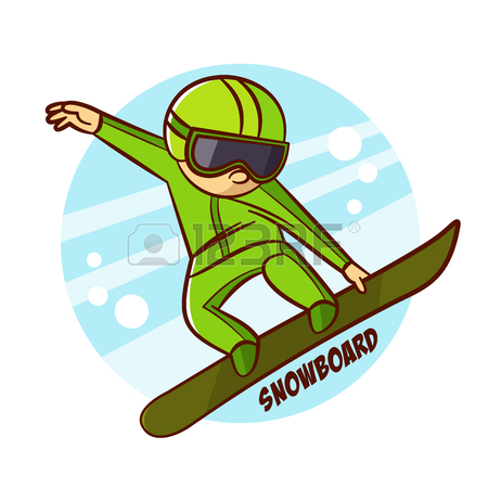 Snowboarders Clipart