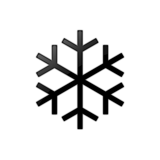 512x512 Simple Snowflake (Snowflakes) Icon