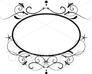 300x243 Wedding Monogram Clipart