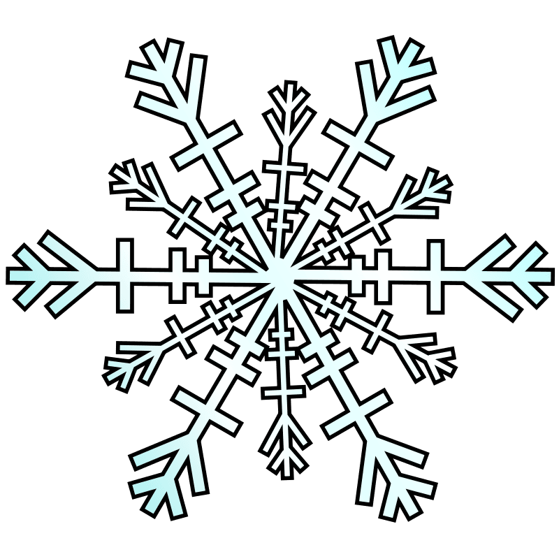 800x800 Snowflake clipart winter season