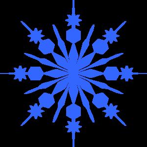 300x300 Snowflake Clip Art