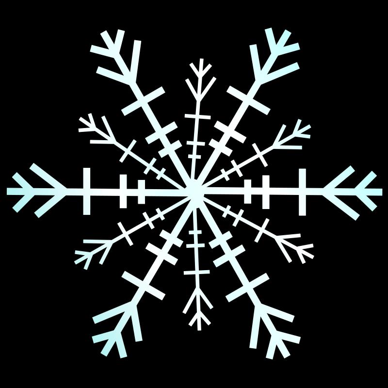 800x800 Snowflake Free Vector 4vector