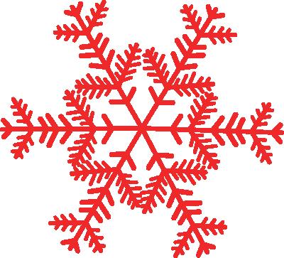 400x363 Snowflake Clipart Vintage
