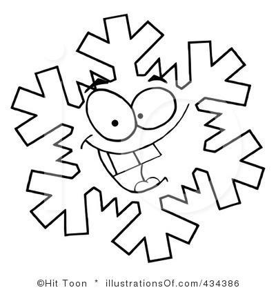 400x420 License Free Snowflake Clip Art – Cliparts