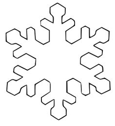 236x259 Snowflake Simple Shapes Coloring Pages Amp Coloring Book
