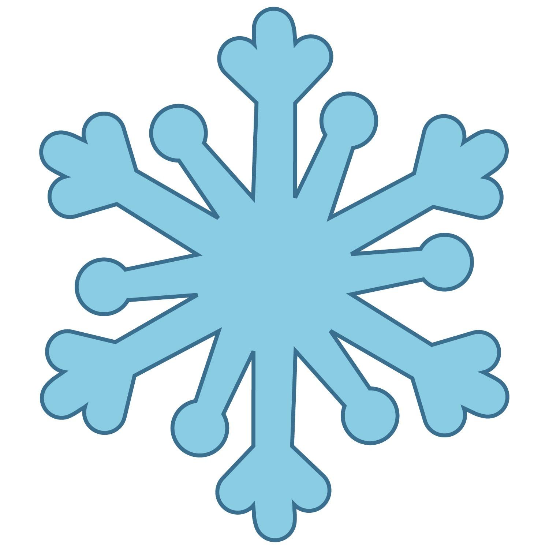 1500x1500 Snowflake clip art 2 –