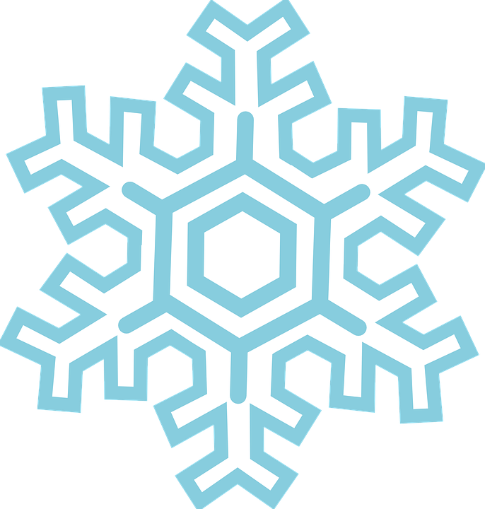 686x720 Snowflake Clipart Frost