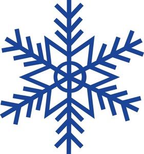 281x300 Top 75 Snowflake Clip Art