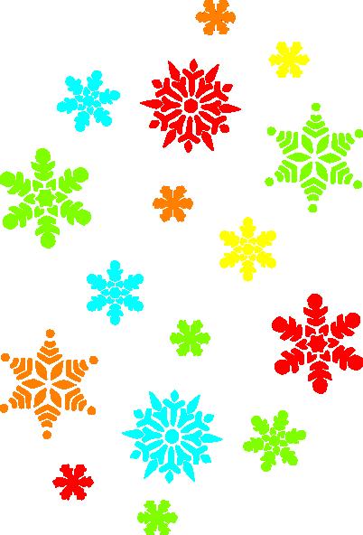 402x592 Christmas clipart snowflakes
